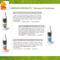 PRODUCTES GREENION - ingredients natual