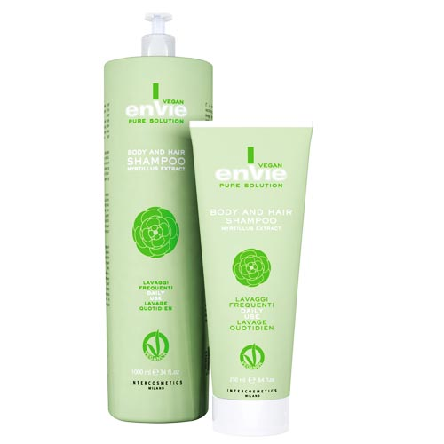 ENVIE VEGAN BODY AND HAIR SHAMPOO: MYRTILLUS EXTRACT